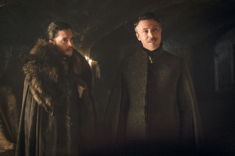 Game of Thrones, s7e2 'Stormborn': Jon Snow and Littlefinger