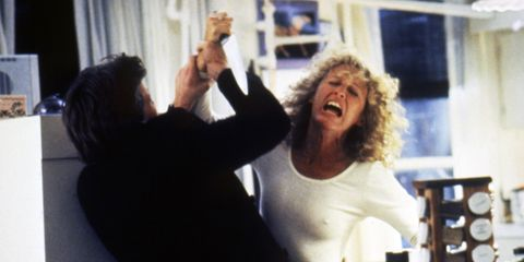 Fatal Attraction's Glenn Close was