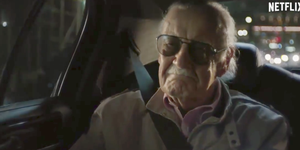 Stan Lee in Defenders and Punisher trailer