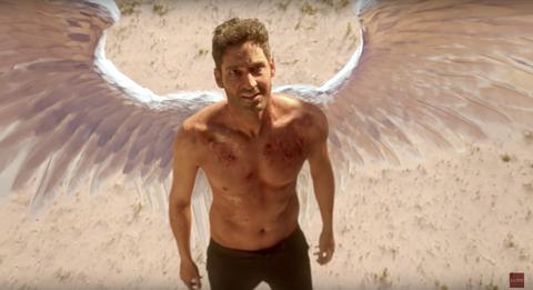 Tom Ellis in Lucifer season 3 trailer