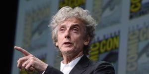 Peter Capaldi at San Diego Comic-Con