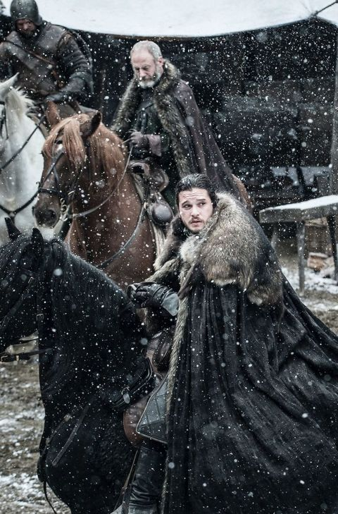 Game of Thrones, s7e2 'Stormborn':  Jon Snow and Ser Davos