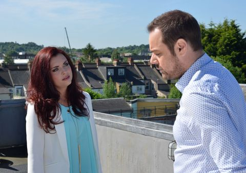 Whitney and Mick Carter have another heart-to-heart in EastEnders
