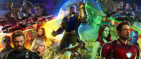 Avengers: Infinity War Comic-Con poster revealed Sunday, July 24