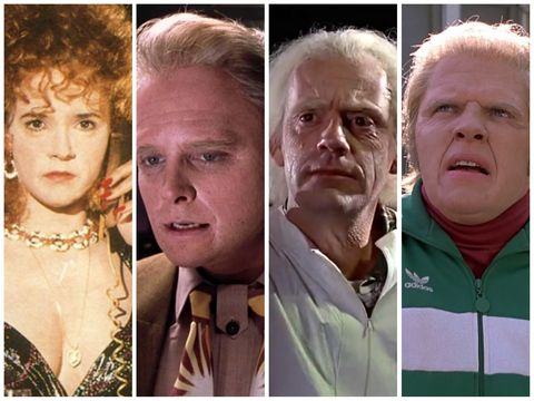 Back to the Future cast then and now - comparing their aged