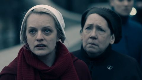 offred and aunt lydia the handmaid's tale