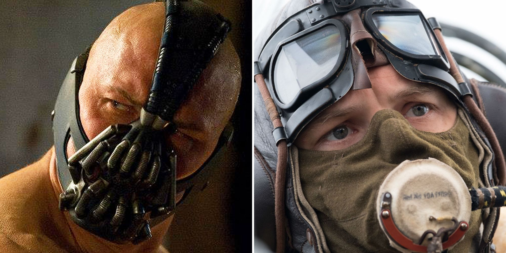 Here S Why Tom Hardy S Face Keeps Getting Covered Up In His Movies