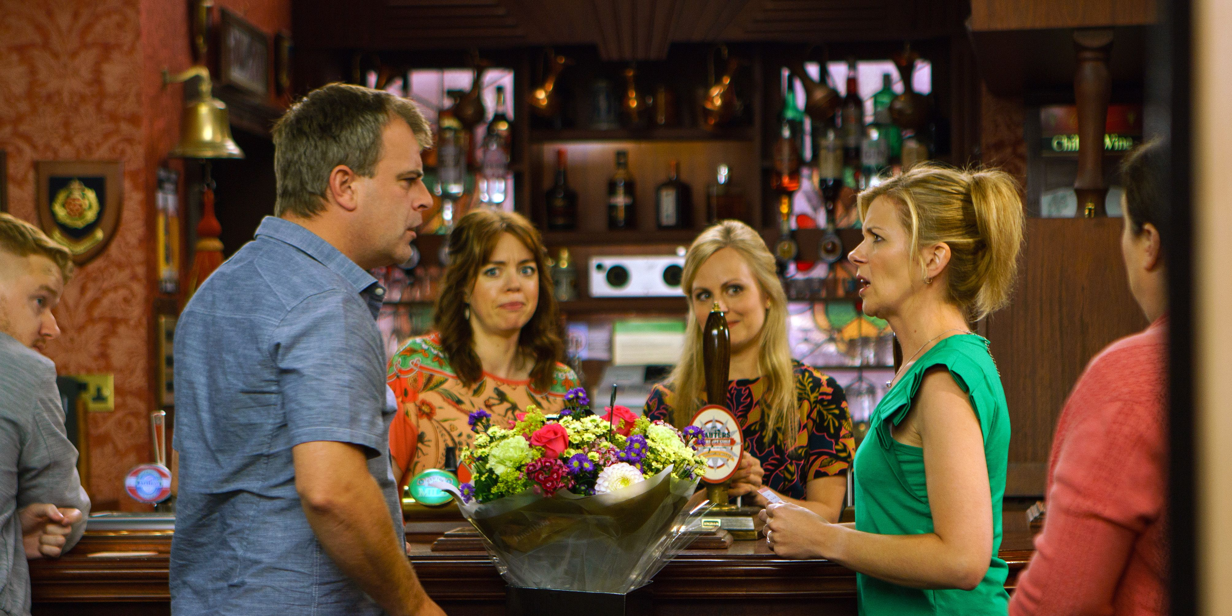 Steve McDonald and Leanne Battersby remain centre of attention in Coronation Street