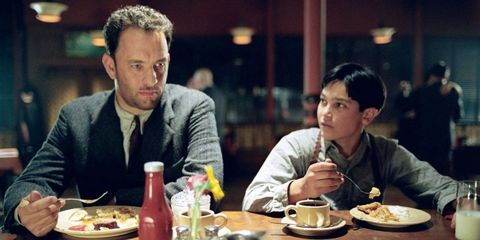 Road to Perdition Tom Hanks Tyler Hoechlin