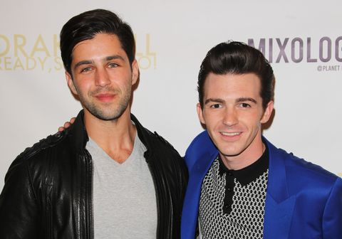 Josh Peck and Drake Bell attend Drake Bell's album release party for 'Ready Steady Go!'