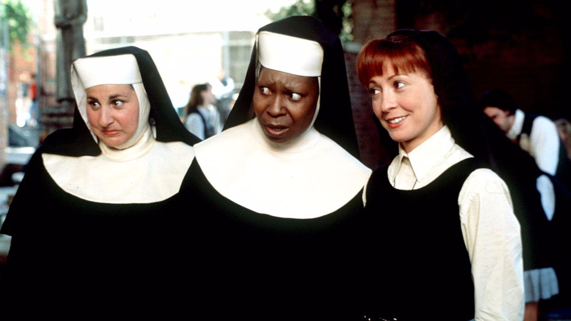 """Whoopi Goldberg says Sister Act 3 is a """"different direction"""""""