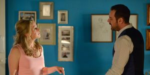Mick and Linda Carter in the special EastEnders episode