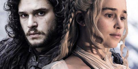 Clarke Harington Snow Daenerys Game of Thrones COMPOSITE