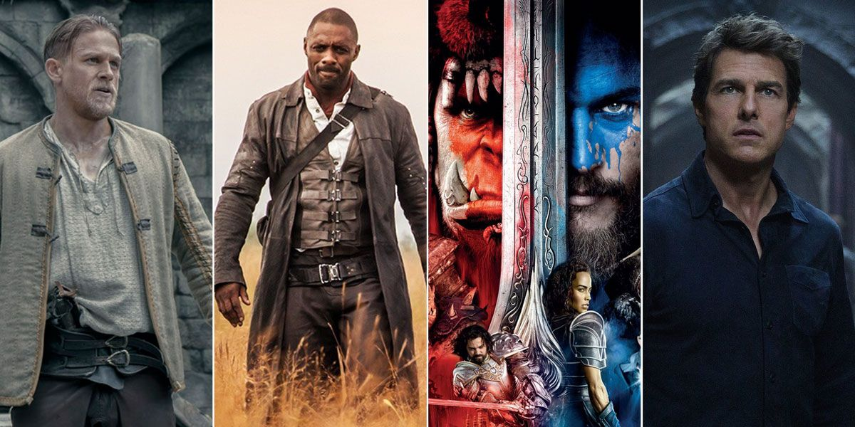 Shared cinematic universes King Arthur Dark Tower Warcraft The Mummy