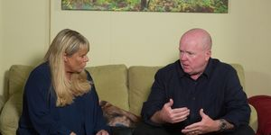Phil Mitchell tells Sharon he wants to do right by his family in EastEnders