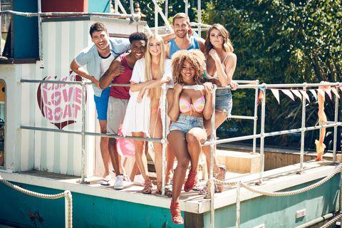 Hollyoaks summer 2017 photoshoot