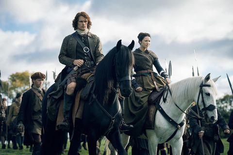 Outlander won't adapt epic Voyager novel over two seasons