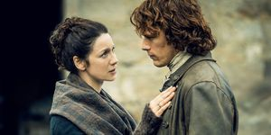 Claire and Jamie in 'Outlander'