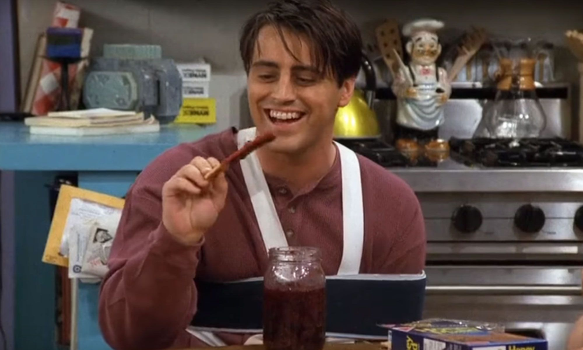 Friends gave Joey Tribbiani a sling after scene went badly wrong