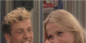 Celebrity Big Brother Sam Thompson and Amelia Lily