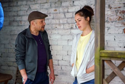 Macca returns to see Shona Ramsey in Coronation Street