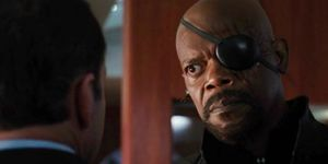 Samuel L Jackson as Nick Fury in Agents of SHIELD
