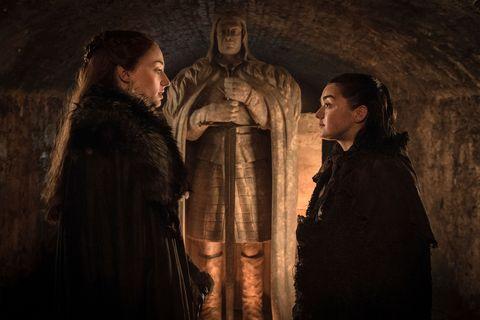 Sansa Stark, Arya Stark, Game of Thrones, GOT, Season 7, episode 4