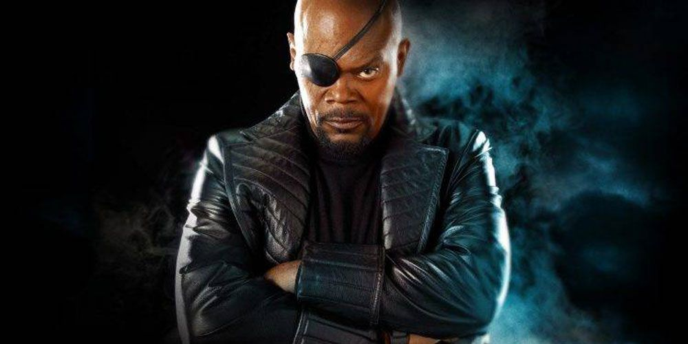 Captain Marvel - Samuel L Jackson's young Nick Fury revealed