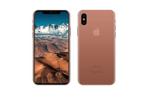 iPhone 8 in bronze