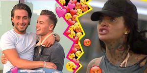 Jemma Lucy, Chris Hughes, Kem Cetinay, Reality Stars nice or conflict