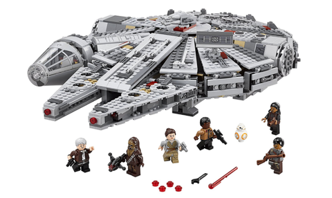 A new Star Wars LEGO Millennium Falcon set is the biggest