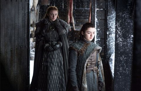Game of Thrones season 7, episode 6: The unease between Arya Stark and Sansa Stark is palpable