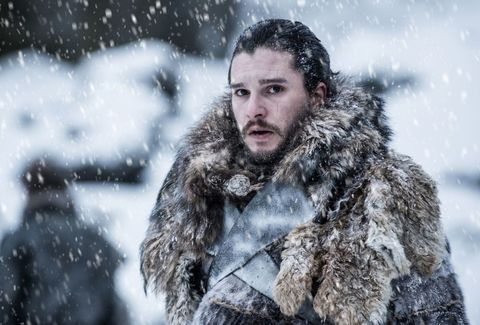 Snow, Fur, Winter storm, Winter, Beard, Facial hair, Freezing, Blizzard, Fur clothing, Human,
