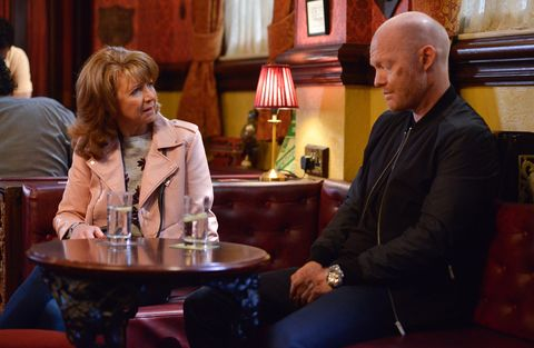 Carmel Kazemi and Max Branning fall out in EastEnders