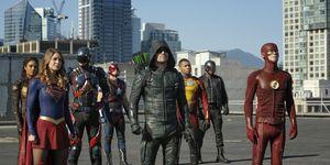 DC TV crossover