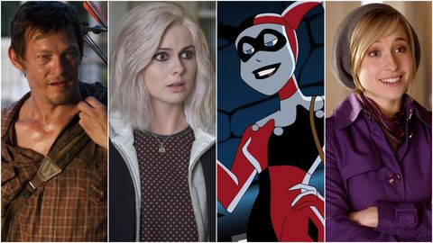 TV characters who weren't in the comic books
