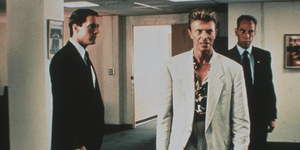 Kyle Maclachlan, David Bowie, Miguel Ferrer in Twin Peaks - Fire Walk With Me