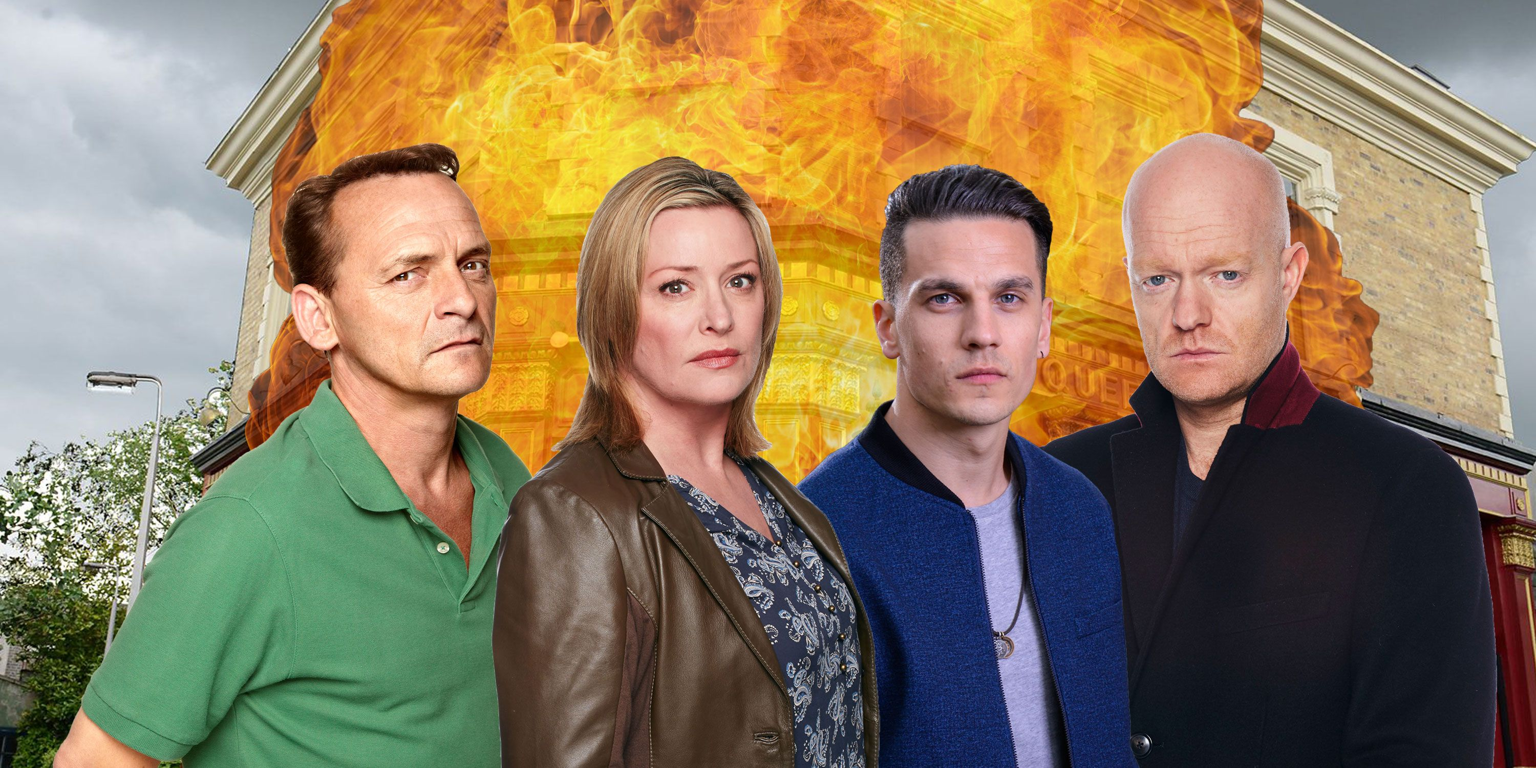 Eastenders explosion deaths, Billy Mitchell, Jane Beale, Steven Beale, Max Branning