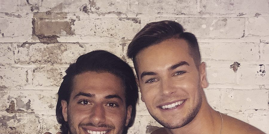 Kem and Chris from Love Island