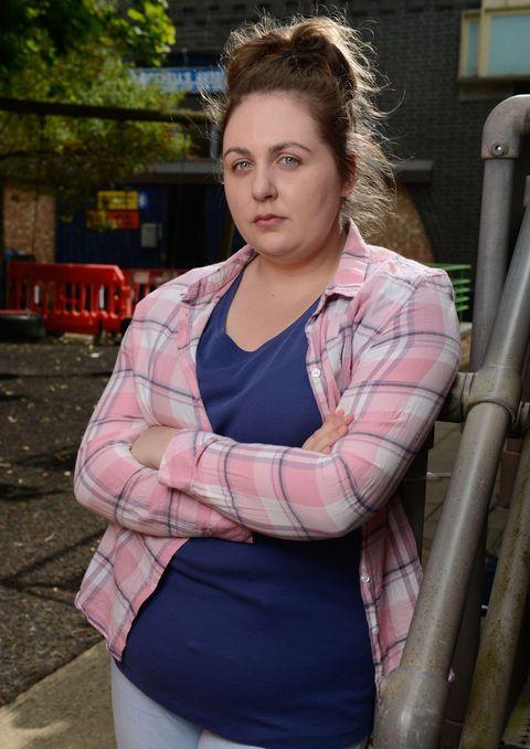 Clair Norris as Bernadette Taylor in EastEnders