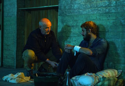 Pat Phelan and Andy Carver in Coronation Street