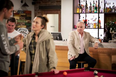 Tyler Brennan's real father Hamish Roche arrives in Neighbours