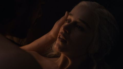 Jon and Daenerys in Game of Thrones
