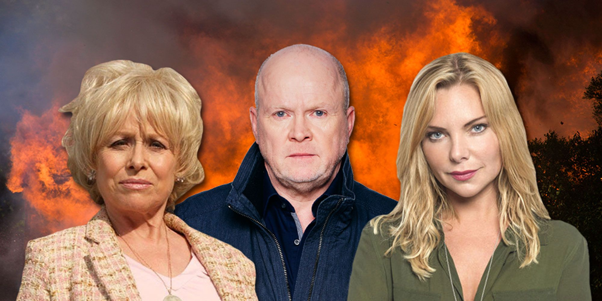 Phil Mitchell, Ronnie Mitchell, Peggy Mitchell, Eastenders