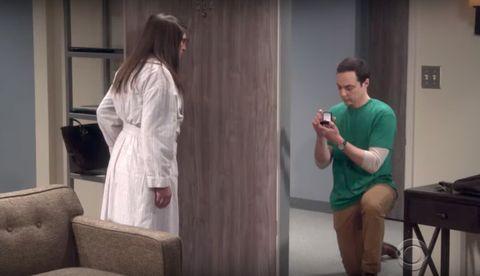 Sheldon proposes the Big Bang theory