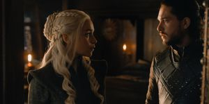 Daenerys and Jon in Game of Thrones s07e07