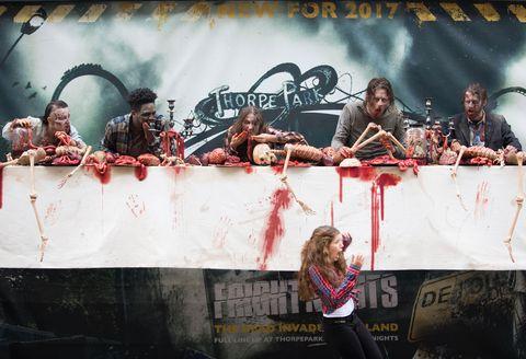 The Walking Dead, Thorpe Park