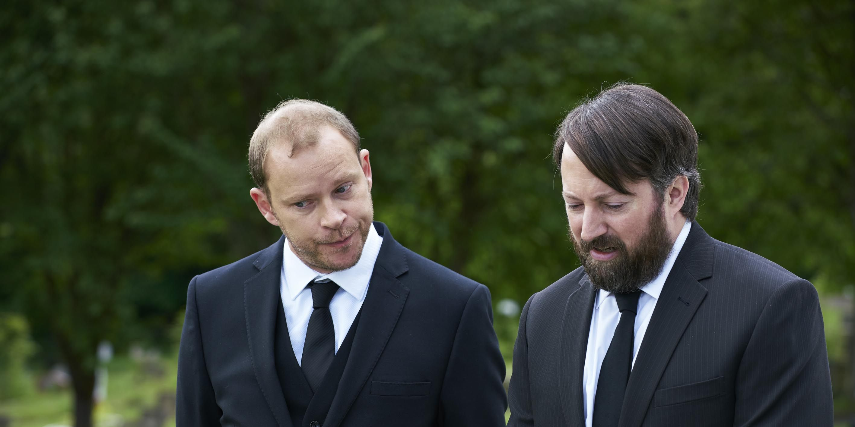 Robert Webb and David Mitchell in 'Back'