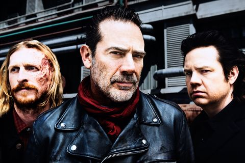 The Walking Dead, Jeffrey Dean Morgan as Negan, Josh McDermitt as Dr. Eugene Porter, Austin Amelio as Dwight