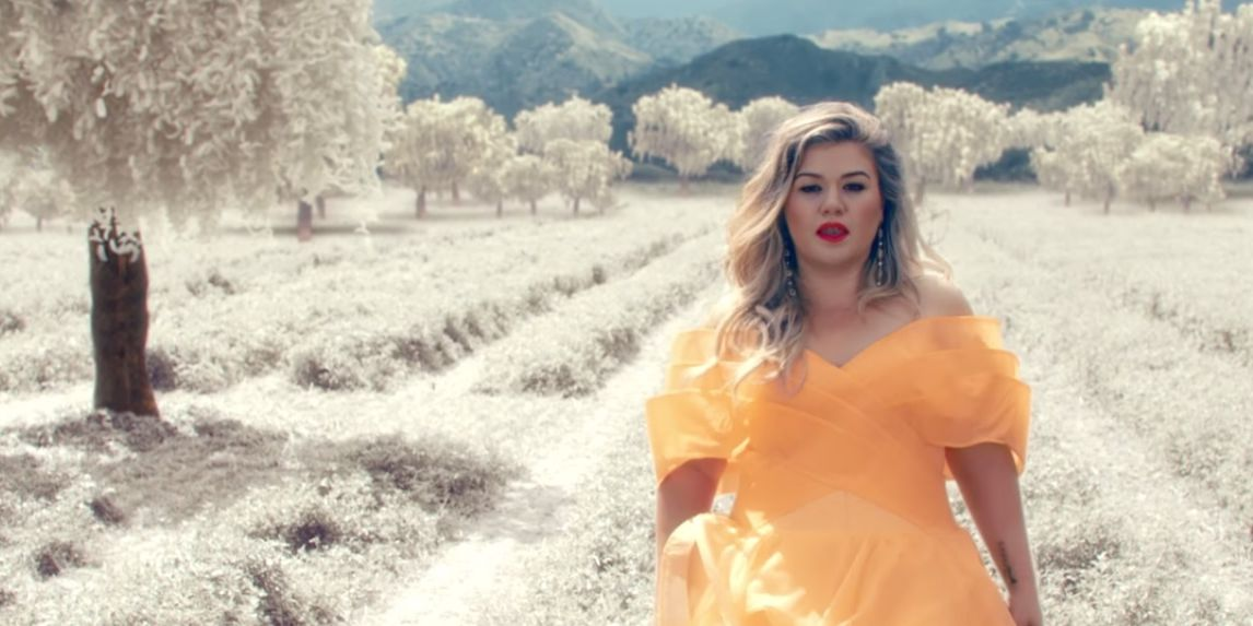 Kelly Clarkson in 'Love So Soft' music video